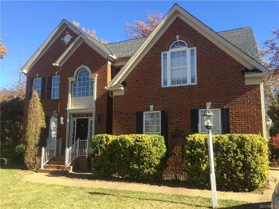 Chesterfield County Rental For Rent: 14208 Brightstone Mews