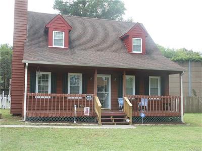 Hopewell VA Single Family Home For Sale: $129,500