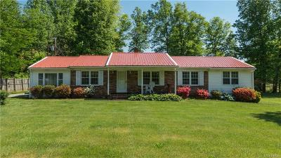 Powhatan Single Family Home For Sale: 6477 Anderson Highway