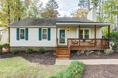 Glen Allen Single Family Home For Sale: 4608 Grinding Stone Circle