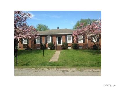 Hopewell VA Single Family Home Sold: $206,000