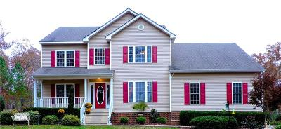 Chesterfield VA Single Family Home For Sale: $500,000