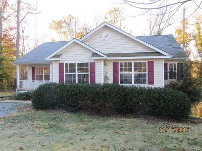 King William Single Family Home For Sale: 355 Nottoway Lane