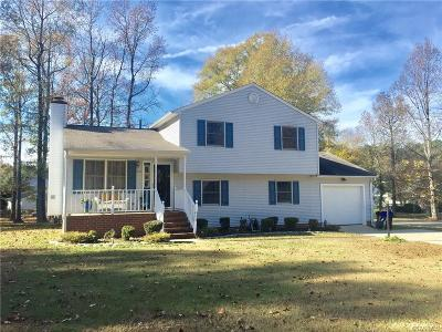 Prince George VA Single Family Home For Sale: $215,000