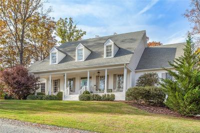 Powhatan County Single Family Home For Sale: 2801 Valley Springs Road