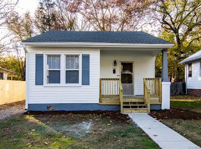 Richmond Single Family Home For Sale: 1321 Columbia Street