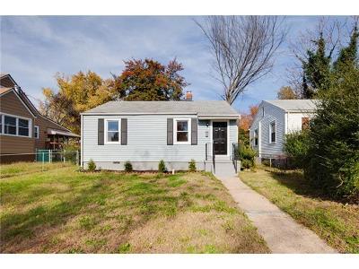 Richmond Single Family Home For Sale: 514 Hazelhurst Avenue