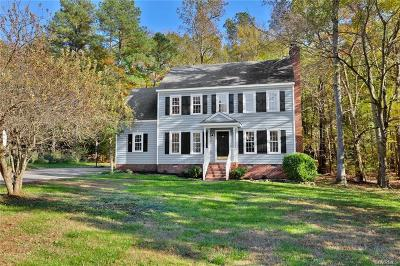Midlothian Single Family Home For Sale: 3551 Markey Road