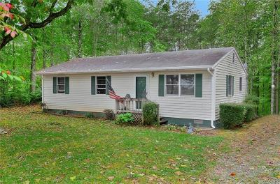 Powhatan County Single Family Home For Sale: 1009 Evans Road