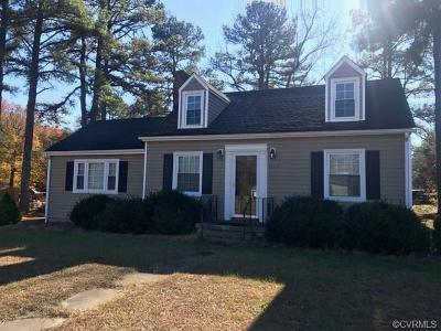 South Chesterfield Single Family Home For Sale: 7217 River Road