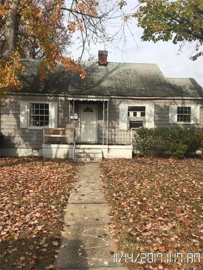 Single Family Home For Sale: 1708 Fenton Street
