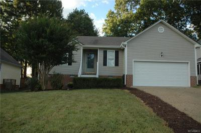 Chesterfield VA Single Family Home For Sale: $213,950