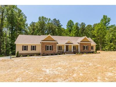 Mechanicsville Single Family Home For Sale: 00 Glebe Hill Road