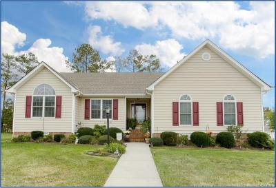 Prince George VA Single Family Home For Sale: $245,000
