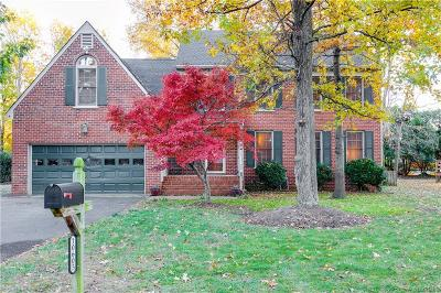 Glen Allen Single Family Home For Sale: 10605 Argonne Drive