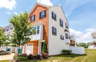 Hanover County Condo/Townhouse For Sale: 8011 Belton Circle