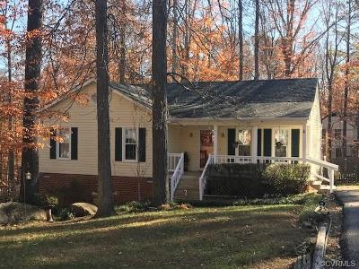 Midlothian Single Family Home For Sale: 13907 Deer Thicket Lane