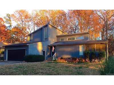 Midlothian Single Family Home For Sale: 14336 Regatta Pointe Road
