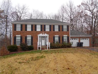 Chesterfield VA Single Family Home For Sale: $270,000