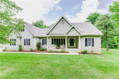 Goochland Single Family Home For Sale: 5448 River Road