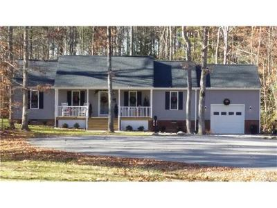 Aylett Single Family Home For Sale: 3 Tbd Smokey Road