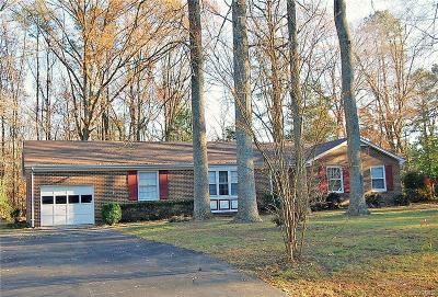Mechanicsville Single Family Home For Sale: 9266 Tadcaster Circle