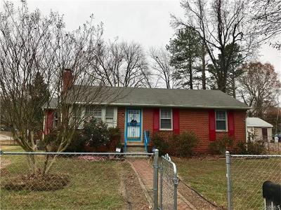 Chesterfield Single Family Home For Sale: 5605 Stella Road