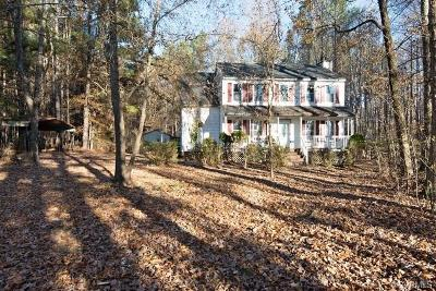 Powhatan County Single Family Home For Sale: 1184 Rocky Ford Road