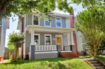 Richmond Single Family Home For Sale: 2713 Griffin Avenue