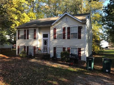 Richmond Single Family Home For Sale: 2828 Farm Creek Drive