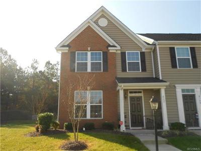 Hanover County Condo/Townhouse For Sale: 8152 Creekside Village Drive #8152