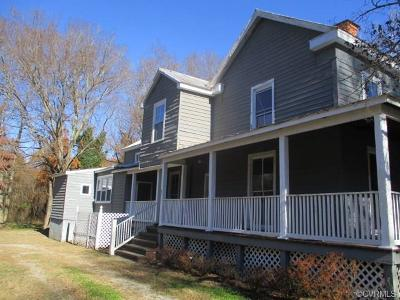 Powhatan County Single Family Home For Sale: 4095 Maidens Road
