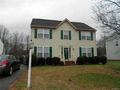 Henrico Rental For Rent: 916 Poplar Cove Way