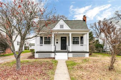Henrico Single Family Home For Sale: 2308 Burnley Avenue