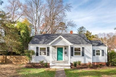 Henrico Single Family Home For Sale: 1208 Foxcroft Road
