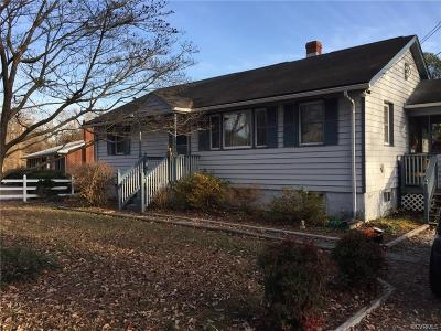 Chester Single Family Home For Sale: 3605 North Street