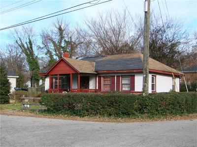 Hopewell VA Single Family Home For Sale: $35,000