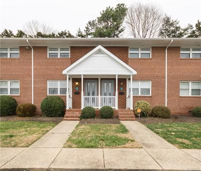 Henrico Condo/Townhouse For Sale: 3109 Parham Road #17