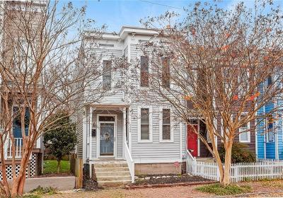 Richmond Single Family Home For Sale: 2208 M Street