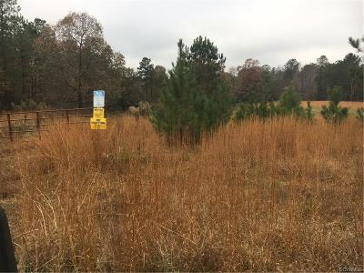 Dinwiddie County Residential Lots & Land For Sale: 23500 Cutbank Road