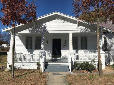 Richmond Single Family Home For Sale: 3005 Decatur Street