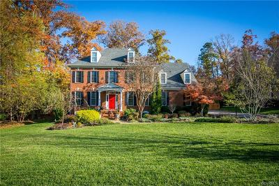 Midlothian Single Family Home For Sale: 3401 Pond Chase Drive