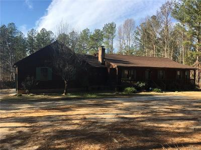 Nottoway County Single Family Home For Sale: 971 McCune Road