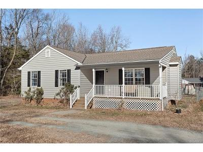 King William Single Family Home For Sale: 71 Garlick Road