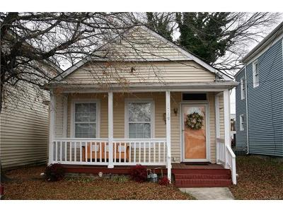 Richmond Single Family Home For Sale: 1719 Porter Street