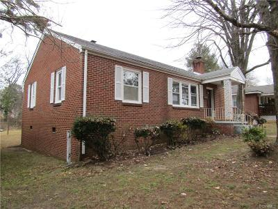Colonial Heights Single Family Home For Sale: 204 Ridge Road
