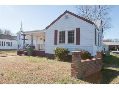Hopewell VA Single Family Home For Sale: $85,000