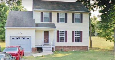 Henrico Single Family Home For Sale: 417 Chipper Way