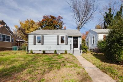 Richmond Single Family Home For Sale: 514 Hazelhurst Avenue