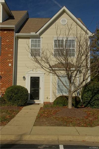 Henrico Condo/Townhouse For Sale: 414 Westover Pines Drive #414